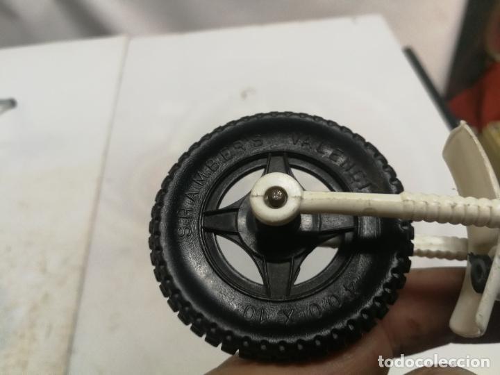 Figuras de Goma y PVC: MOTO TRIAL CROS YAMAHA 75 DE SHAMBERS SHAMBERS VALENCIA PLASTICO - Foto 4 - 223663225