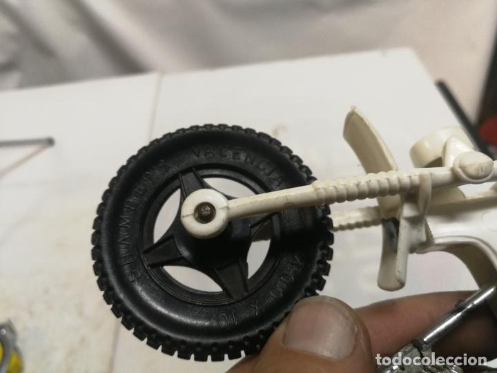 Figuras de Goma y PVC: MOTO TRIAL CROS YAMAHA 75 DE SHAMBERS SHAMBERS VALENCIA PLASTICO - Foto 5 - 223663225