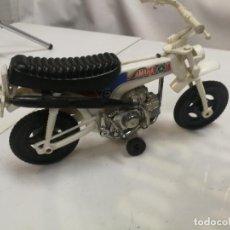 Figuras de Goma y PVC: MOTO TRIAL CROS YAMAHA 75 DE SHAMBER'S SHAMBERS VALENCIA PLASTICO. Lote 223663225