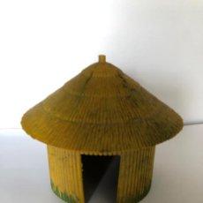Figuras de Goma y PVC: GAMA CABAÑA PLASTICO AÑOS 50 AFRICANOS. Lote 223685290