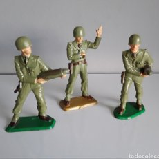 Figuras de Goma y PVC: SOLDADOS SERVIDORES, SERIE EJÉRCITOS MODERNOS STARLUX FRANCE 60/70, COMP. JECSAN O PECH. Lote 223726807