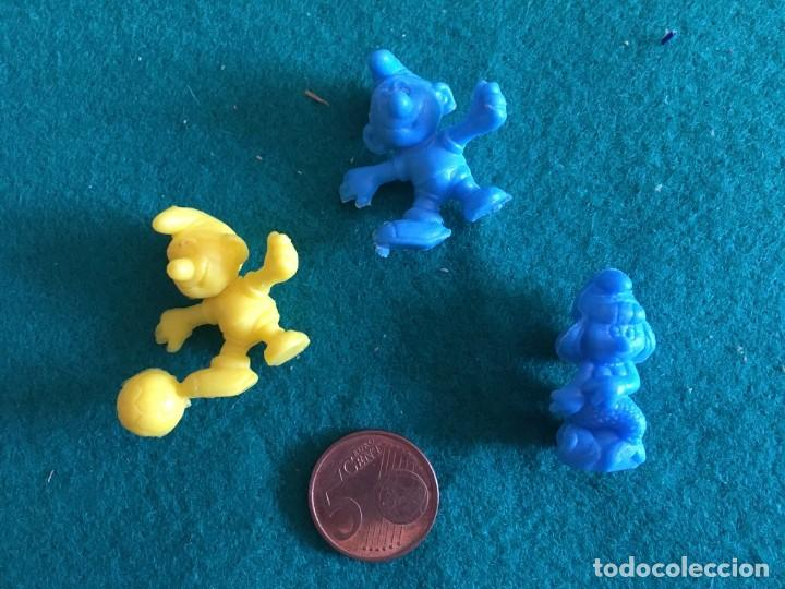 FIGURAS DUNKIN PITUFOS (Juguetes - Figuras de Goma y Pvc - Dunkin)