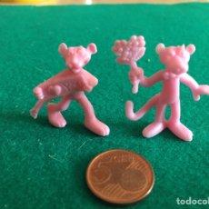 Figuras de Goma y PVC: DUNKIN PANTERA ROSA. AÑOS 80. Lote 223767856