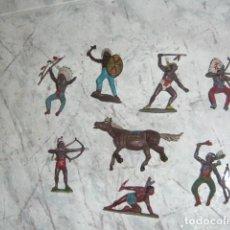 Figurines en Caoutchouc et PVC: TEIXIDO LOTE FIGURAS OESTE INDIOS. Lote 223844743