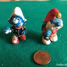Figuras de Goma y PVC: PITUFOS PVC ANTIGUOS AÑOS 80. Lote 223846176