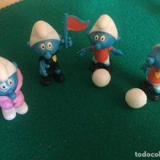 Figuras Kinder: FIGURAS KINDER SERIE PITUFOS AÑOS 80. Lote 223987001