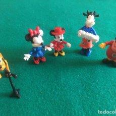 Figuras Kinder: FIGURAS KINDER MICKEY, MINIE, PLUTÓN, ETC. AÑOS 80. Lote 223987278