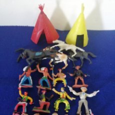 Figuras de Goma y PVC: FIGURAS DEL MINIOESTE. Lote 224075103