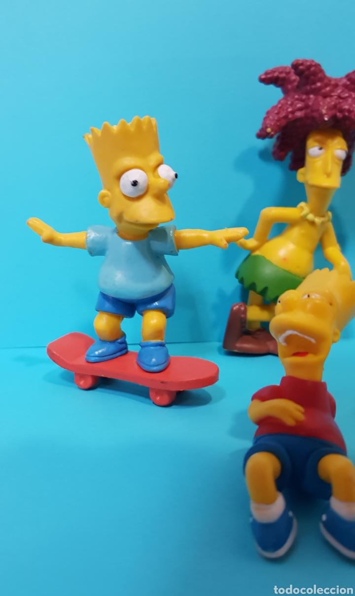 Figuras de Goma y PVC: LOS SIMPSON / LOTE 4 MUÑECOS / Fox / BART, ... - Foto 2 - 224246110