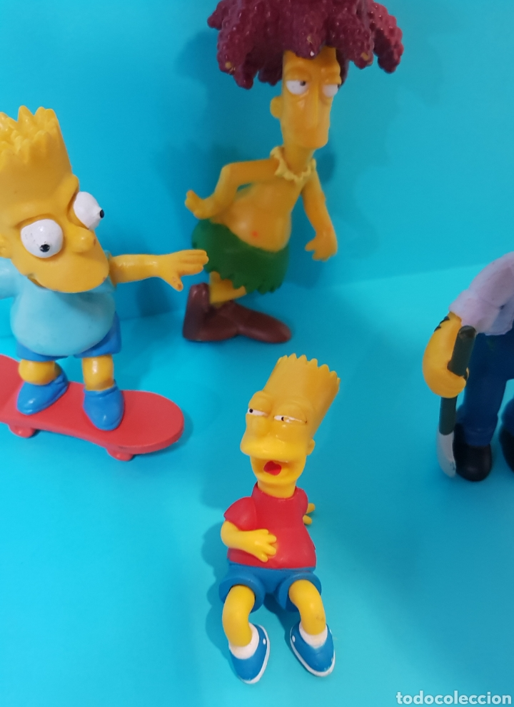 Figuras de Goma y PVC: LOS SIMPSON / LOTE 4 MUÑECOS / Fox / BART, ... - Foto 3 - 224246110