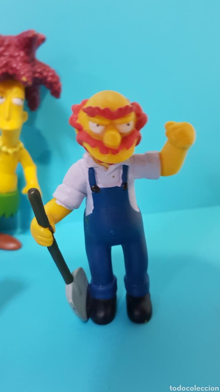 Figuras de Goma y PVC: LOS SIMPSON / LOTE 4 MUÑECOS / Fox / BART, ... - Foto 5 - 224246110