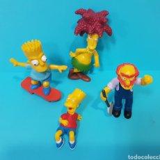 Figuras de Goma y PVC: LOS SIMPSON / LOTE 4 MUÑECOS / FOX / BART, .... Lote 224246110