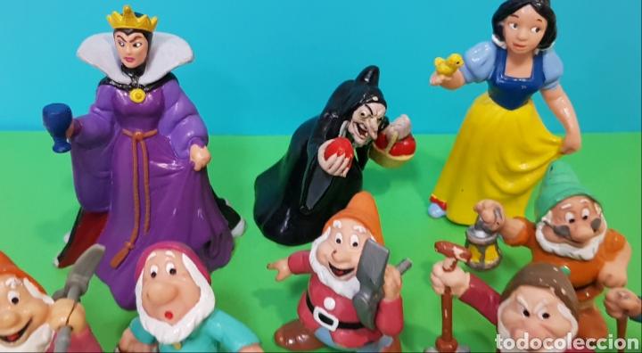 Figuras de Goma y PVC: LOTE 9 FIGURAS BLANCANIEVES Y LOS SIETE ENANITOS / DISNEY - Foto 3 - 224247448