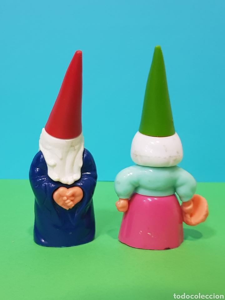 Figuras de Goma y PVC: LISA Y DAVID EL GNOMO EN PLÁSTICO DURO AÑOS 80 - UB/BRB 1987 - Foto 2 - 224254897