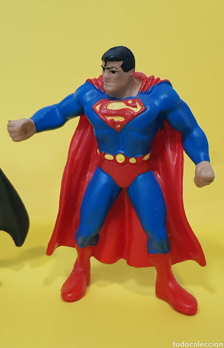 Figuras de Goma y PVC: BATMAN - SUPERMAN / BULLY - Foto 2 - 224258856