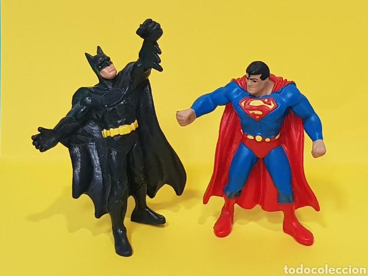 BATMAN - SUPERMAN / BULLY (Juguetes - Figuras de Goma y Pvc - Bully)