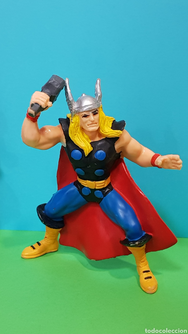 Figuras de Goma y PVC: THOR - IRON MAN - LOBEZNO / LOTE 3 FIGURAS YOLANDA - Foto 2 - 224258980