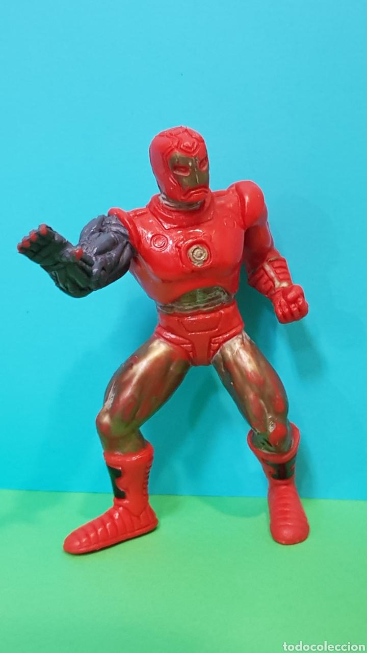 Figuras de Goma y PVC: THOR - IRON MAN - LOBEZNO / LOTE 3 FIGURAS YOLANDA - Foto 3 - 224258980