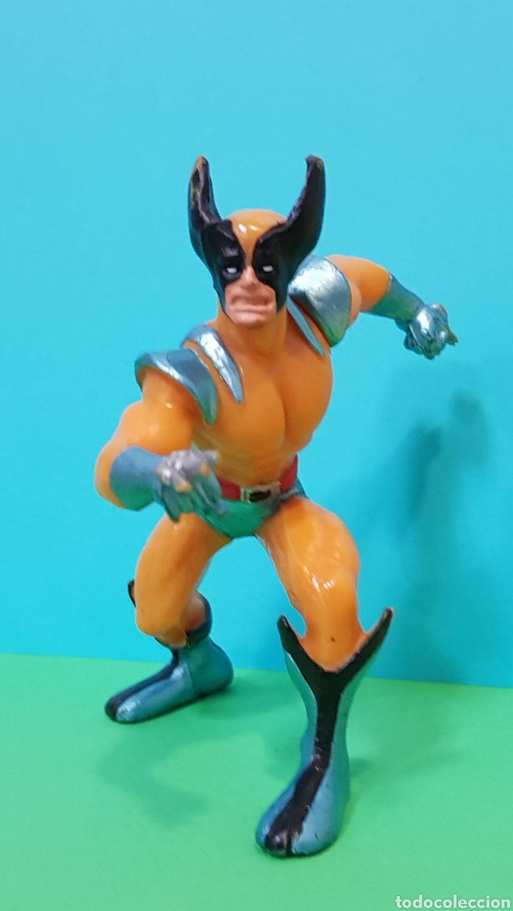 Figuras de Goma y PVC: THOR - IRON MAN - LOBEZNO / LOTE 3 FIGURAS YOLANDA - Foto 4 - 224258980