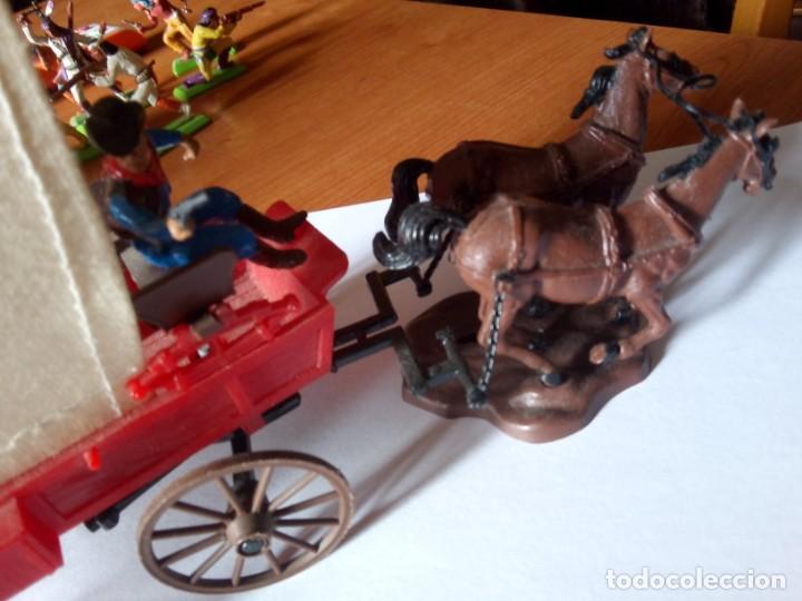 Figuras de Goma y PVC: BRITAINS CARROMATO / BRITAINS WAGON / BRITAINS CARRETA / BRITAINS WILD WEST - Foto 2 - 224294742