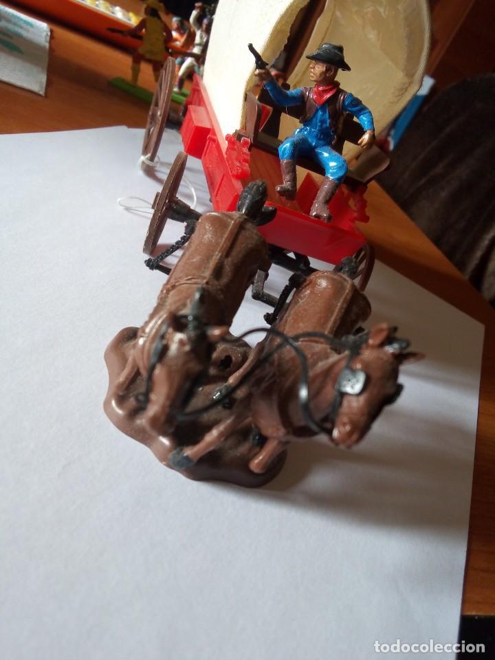 Figuras de Goma y PVC: BRITAINS CARROMATO / BRITAINS WAGON / BRITAINS CARRETA / BRITAINS WILD WEST - Foto 6 - 224294742