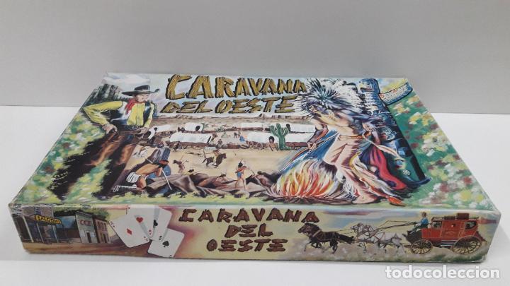 Figuras de Goma y PVC: CAJA DE INDIOS Y VAQUEROS - CARAVANA DEL OESTE . REALIZADA POR M. SOTORRES . ORIGINAL AÑOS 60 - Foto 11 - 224452793