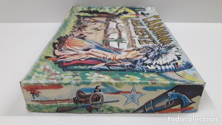 Figuras de Goma y PVC: CAJA DE INDIOS Y VAQUEROS - CARAVANA DEL OESTE . REALIZADA POR M. SOTORRES . ORIGINAL AÑOS 60 - Foto 13 - 224452793