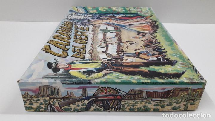 Figuras de Goma y PVC: CAJA DE INDIOS Y VAQUEROS - CARAVANA DEL OESTE . REALIZADA POR M. SOTORRES . ORIGINAL AÑOS 60 - Foto 14 - 224452793