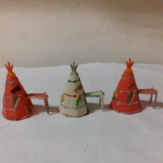 Figuras de Goma y PVC: COMANSI MINI OESTE TIENDAS INDIAS. Lote 224509716