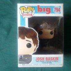 Figuras de Goma y PVC: FUNKO POP JOSH BASKIN DE BIG 794 NUEVO SIN ABRIR POP MOVIES. Lote 224565710