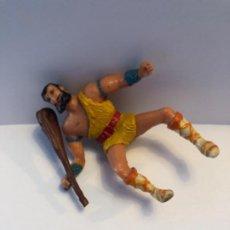 Figuras de Goma y PVC: ESTEREOPLAST TAURUS CON PORRA SE QUITA Y PONE. Lote 224607588