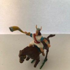 Figurines en Caoutchouc et PVC: ESTEREOPLAST VIKINGO GOODFREI DE CAPITAN TRUENO. Lote 223634932
