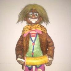 Figuras de Goma y PVC: ANTIGUO MUÑECO PAYASO DE ESTEREOPLAS AÑO 60. Lote 224615550