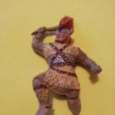 Figurines en Caoutchouc et PVC: ESTEREOPLAST JIM VIKINGO GOMA, AÑOS 50 FALTA BASE. Lote 224702217