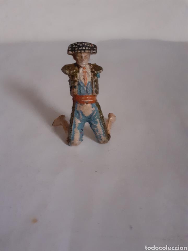 TEIIXIDO FIGURA TORERO EN GOMA (Juguetes - Figuras de Goma y Pvc - Teixido)