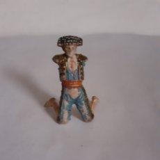 Figuras de Goma y PVC: TEIIXIDO FIGURA TORERO EN GOMA. Lote 224704833