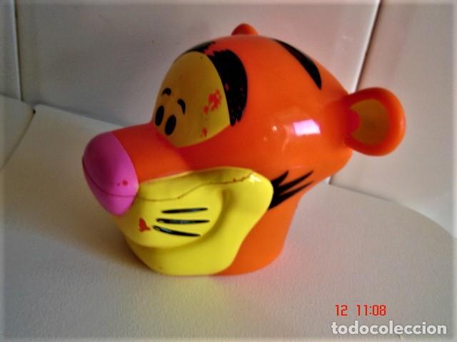 Figuras de Goma y PVC: HUCHA FIGURA CABEZA DE TIGRE DE HELADO ROYNE - Foto 3 - 224733823