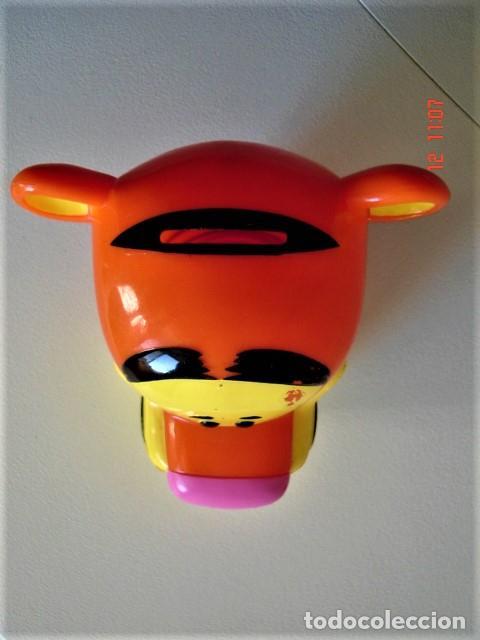 Figuras de Goma y PVC: HUCHA FIGURA CABEZA DE TIGRE DE HELADO ROYNE - Foto 4 - 224733823