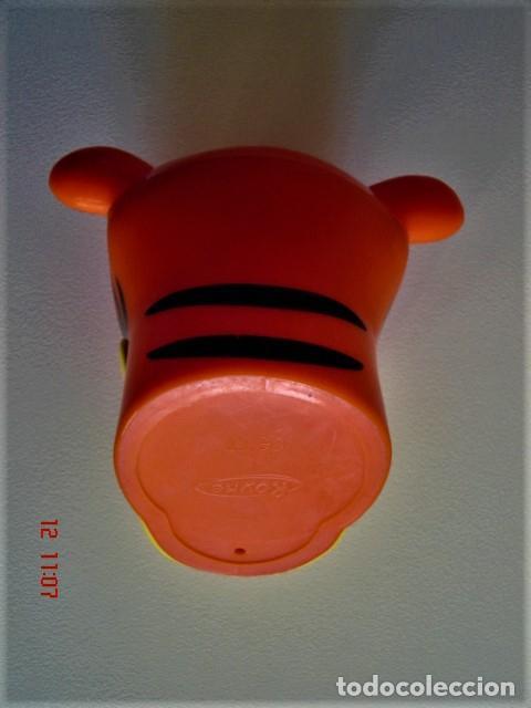 Figuras de Goma y PVC: HUCHA FIGURA CABEZA DE TIGRE DE HELADO ROYNE - Foto 6 - 224733823