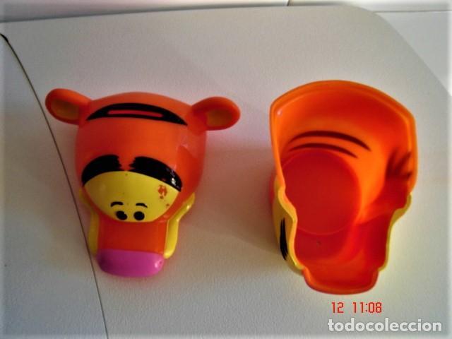Figuras de Goma y PVC: HUCHA FIGURA CABEZA DE TIGRE DE HELADO ROYNE - Foto 7 - 224733823