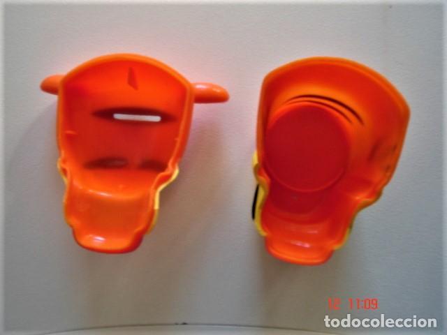 Figuras de Goma y PVC: HUCHA FIGURA CABEZA DE TIGRE DE HELADO ROYNE - Foto 8 - 224733823