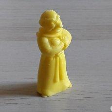 Figuras de Borracha e PVC: FIGURA MONJE, SERIE RUY EL PEQUEÑO CID, FABRICADO EN PLÁSTICO, DUNKIN, ORIGINAL AÑOS 80.. Lote 224804491