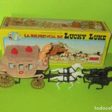 Figuras de Goma y PVC: LA DILIGENCIA DE LUCKY LUKE , COMANSI, NUEVA A ESTRENAR. Lote 224843857