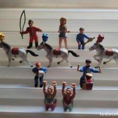 Figuras de Goma y PVC: COLECCIÓN DE FIGURAS DE PVC DEL CIRCO BULLY. Lote 224889631