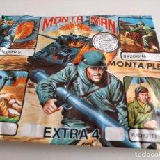 Figuras de Goma y PVC: GTL39 SOBRE SIN ABRIR MONTA-MAN MONTA-PLEX COLECCINABLES MILITAR EXTRA 4. Lote 224983570