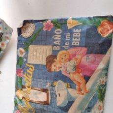 Figuras de Goma y PVC: GTL39 SOBRE SIN ABRIR MONTA-MAN MONTA-PLEX COLECCINABLES SERIE MUJERCITAS BAÑO DE MI BEBE. Lote 224983901