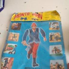 Figuras de Goma y PVC: GTL39 BOLSA VACIA MONTA-MAN MONTA-PLEX DONDE VAN LOS SOBRES EL DE FOTO. Lote 224984131