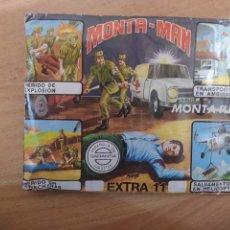 Figuras de Goma y PVC: SOBRE DE MONTAMAN EXTRA 11 DE MONTAPLEX. Lote 225066955