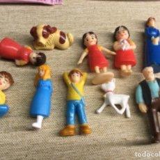 Figuras Kinder: COLECCIÓN COMPLETA DE 10 FIGURITAS - HEIDI - - ZAINI. Lote 225025515