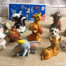 Figuras Kinder: COLECCIÓN COMPLETA DE 12 FIGURITAS - DISNEY ANIMAL FRIENDS - - ZAINI. Lote 225027472